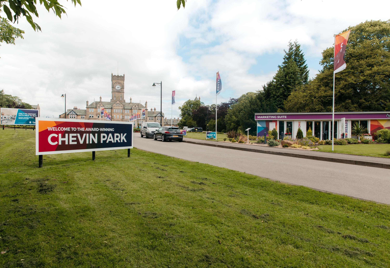 Chevin Park Sales Signage